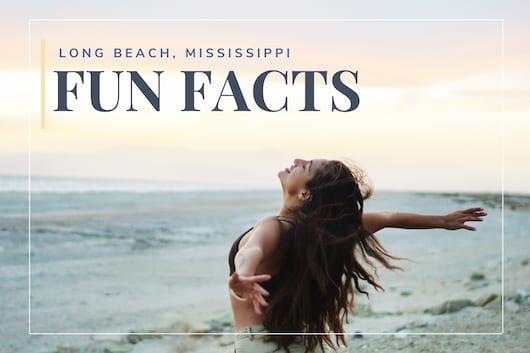 Woman in the Beach having fun - Long Beach Mississippi Fun Facts