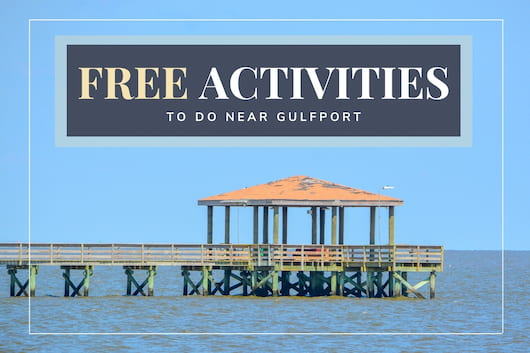 Fishing pier at Gulfport - Free Activities to do near Gulfport