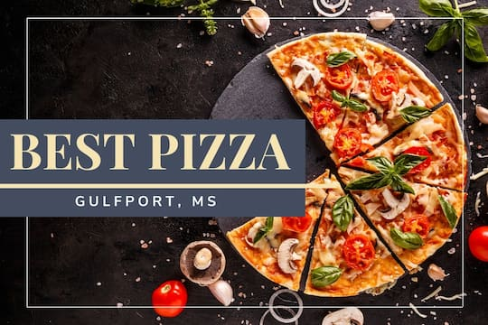 Pizza cut in slices - Best Pizza near Gulfport, MS