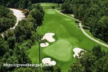 Grand Bear Golf Club aerial view