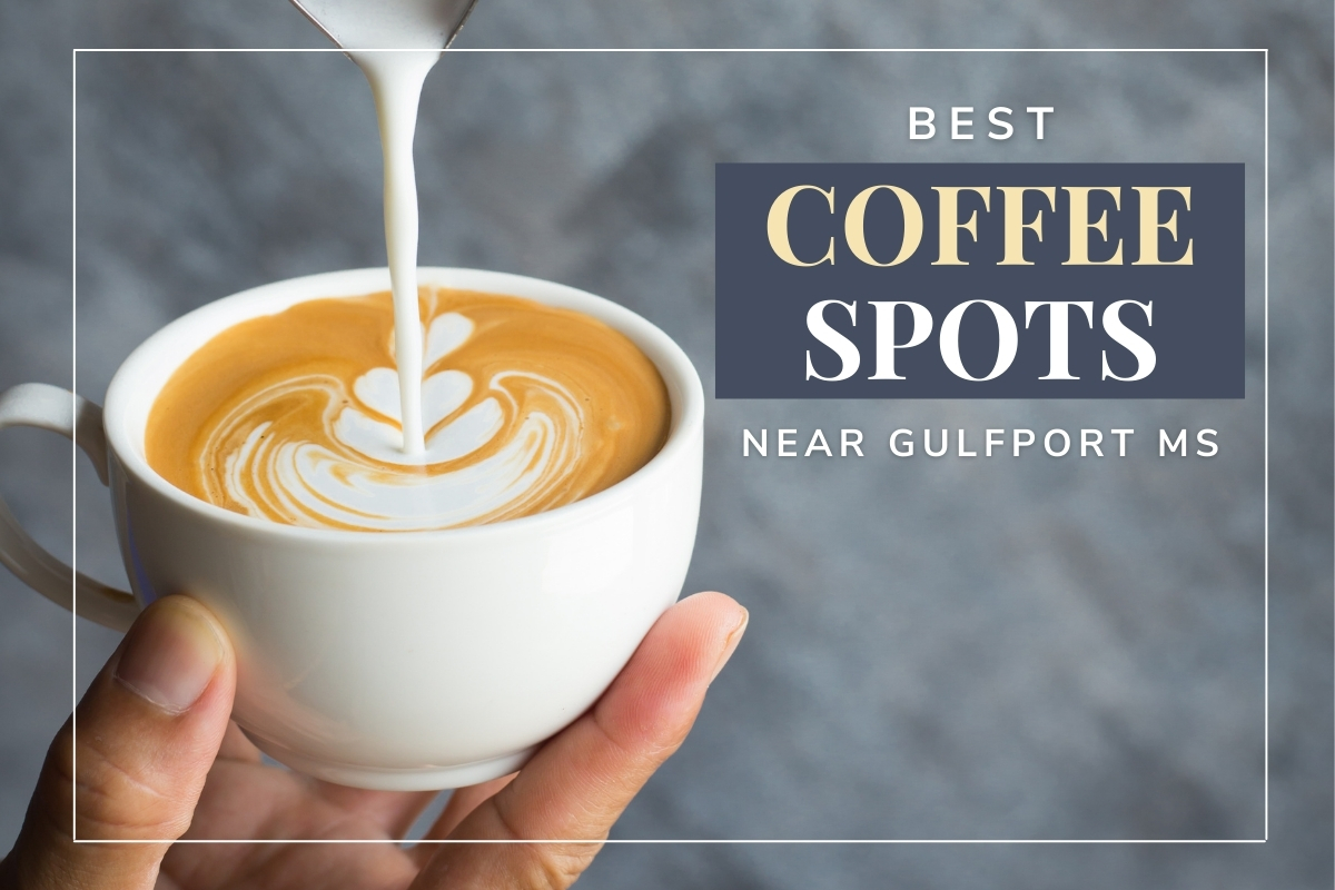 Hand holding a cup of coffee - Best Coffee Spots Near Gulfport MS