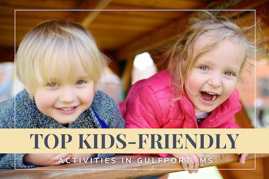 Kids playing in a tree house - Top Kids-Friendly Activities in Gulfport, MS