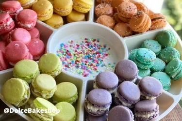 Colorful Macarons from Dolce Bakershop