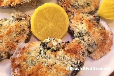 Beach Blvd Steamer Oysters