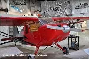 Red plane model