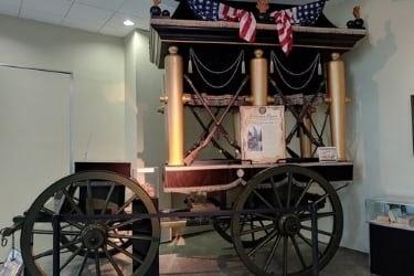 Jefferson Davis Funeral Car