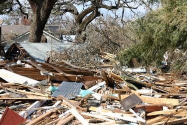 City after Hurricane Katrina