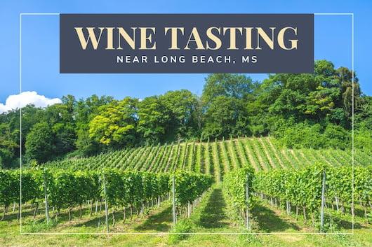 Wine Tasting near Long Beach, MS - Vineyards