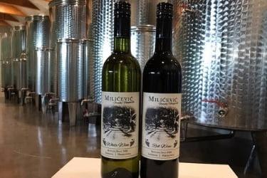 Milicevic Bottles of wine