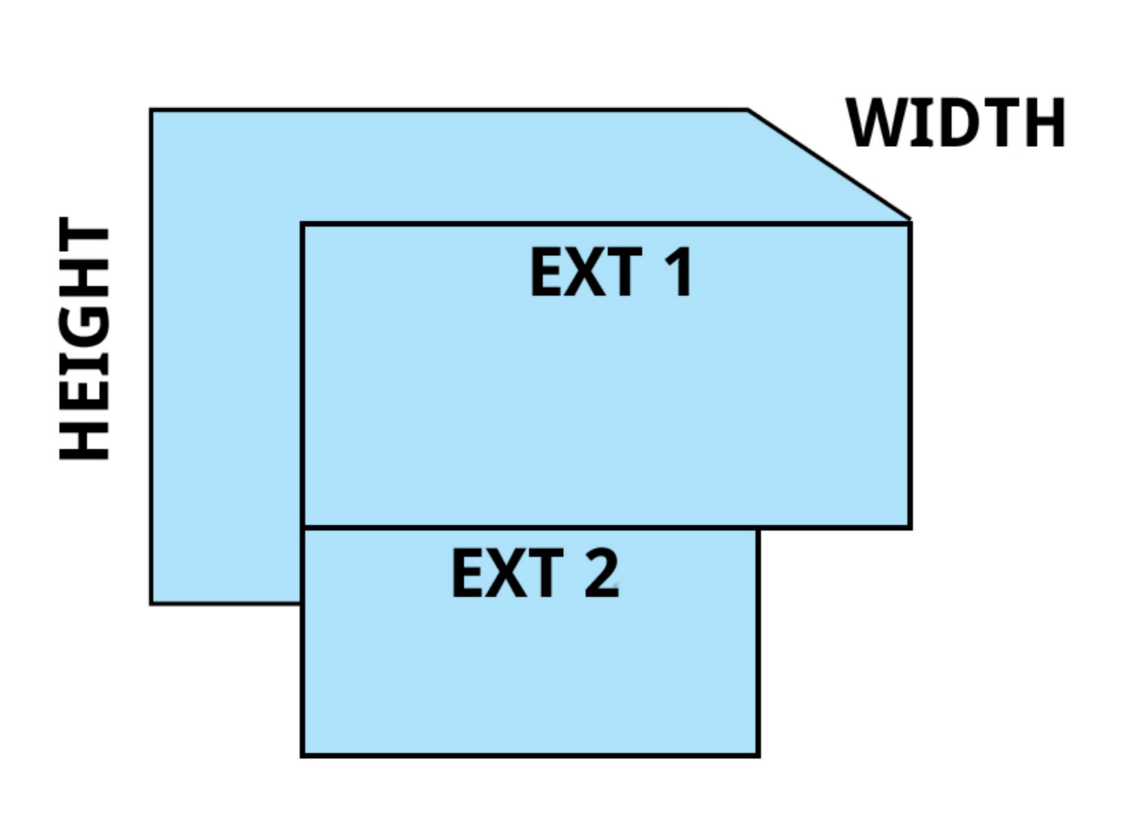 38 inch stack it window well illustration