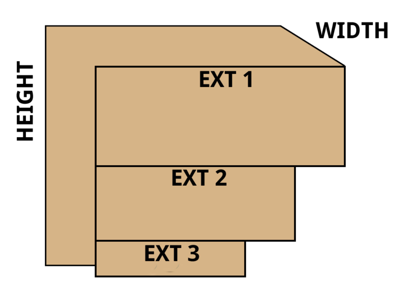46 inch stack it window well illustration