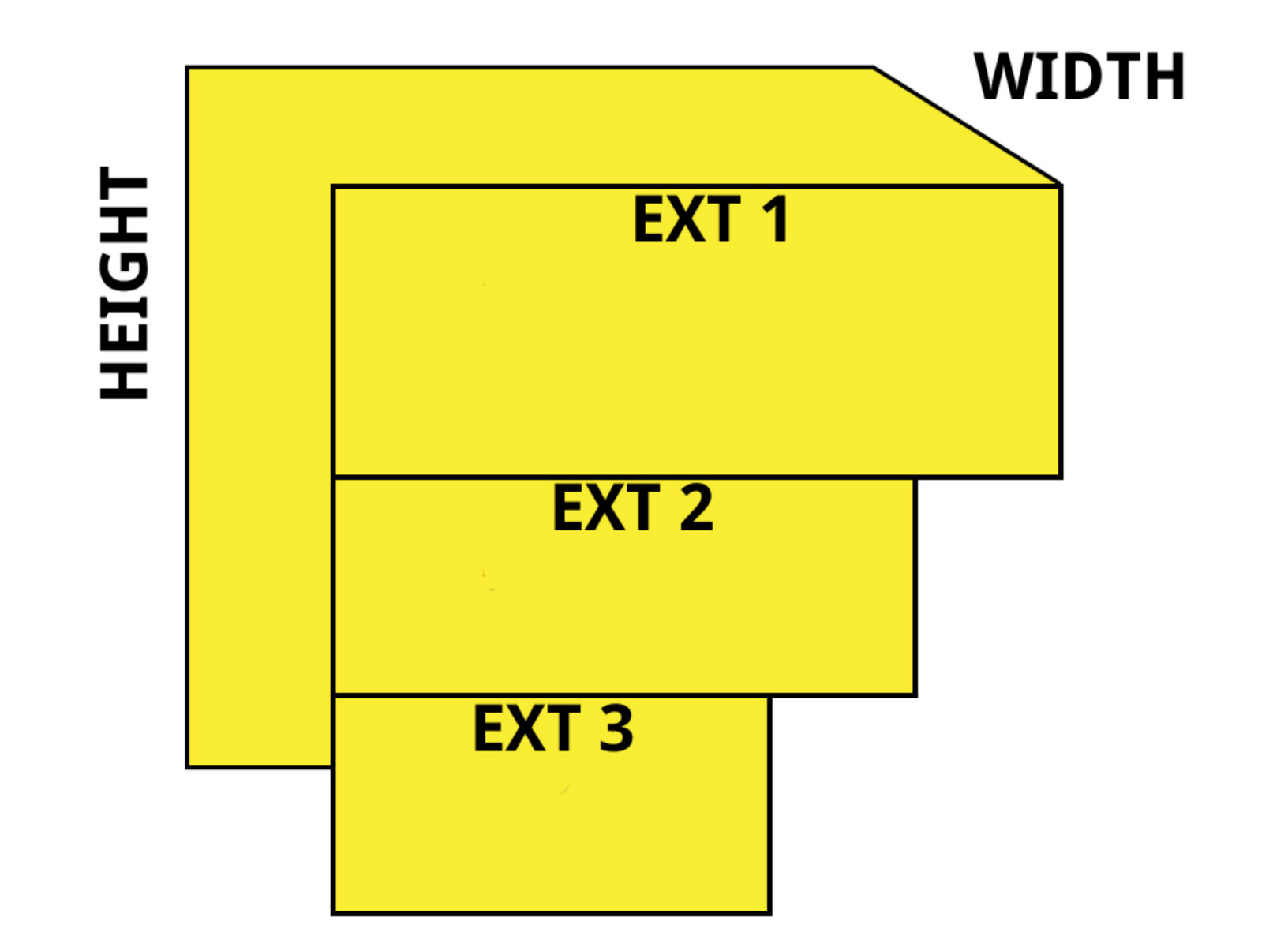 54 inch stack it window well illustration