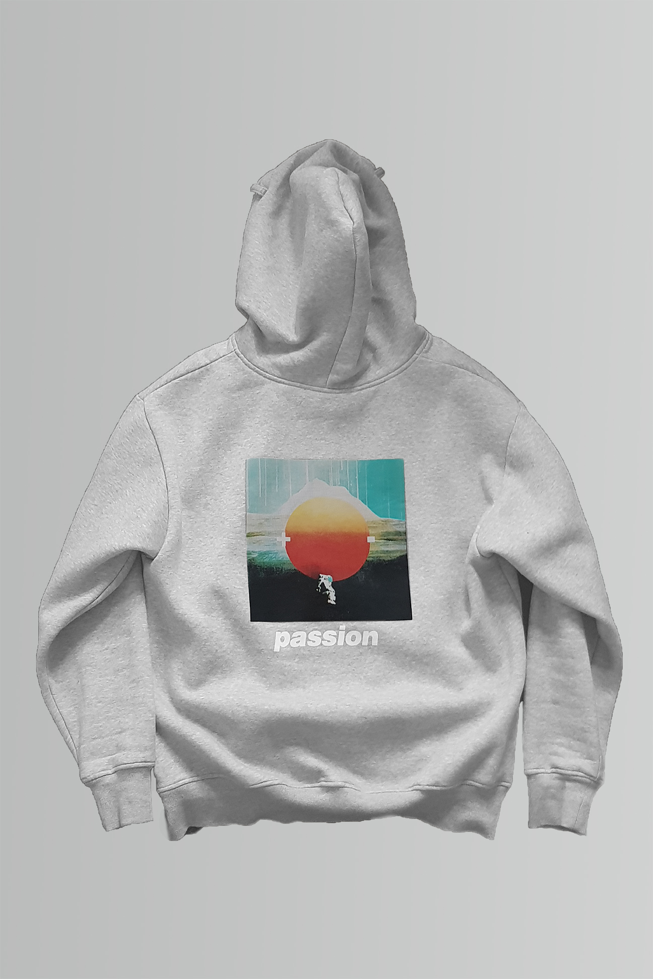 Passion Hoodie in Grey
