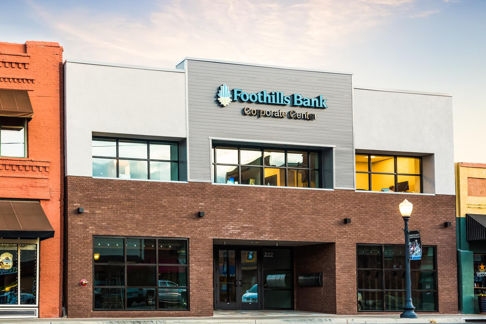 Foothills Bank Corporate