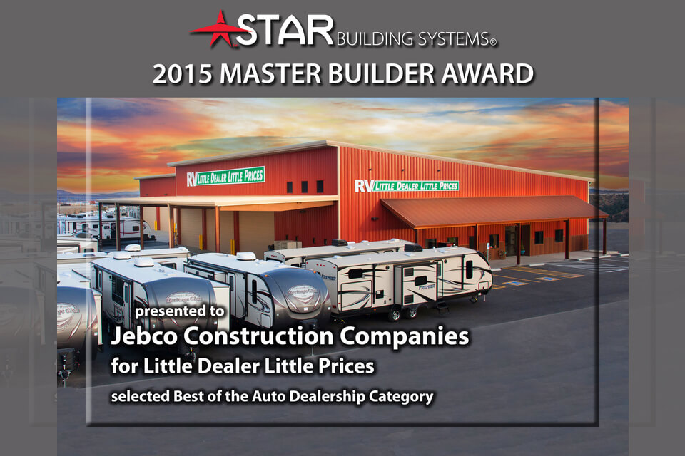 2015 Master Builder Awards Program