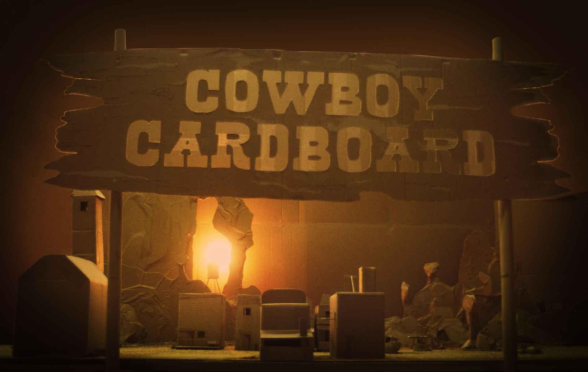 Cowboy Cardboard