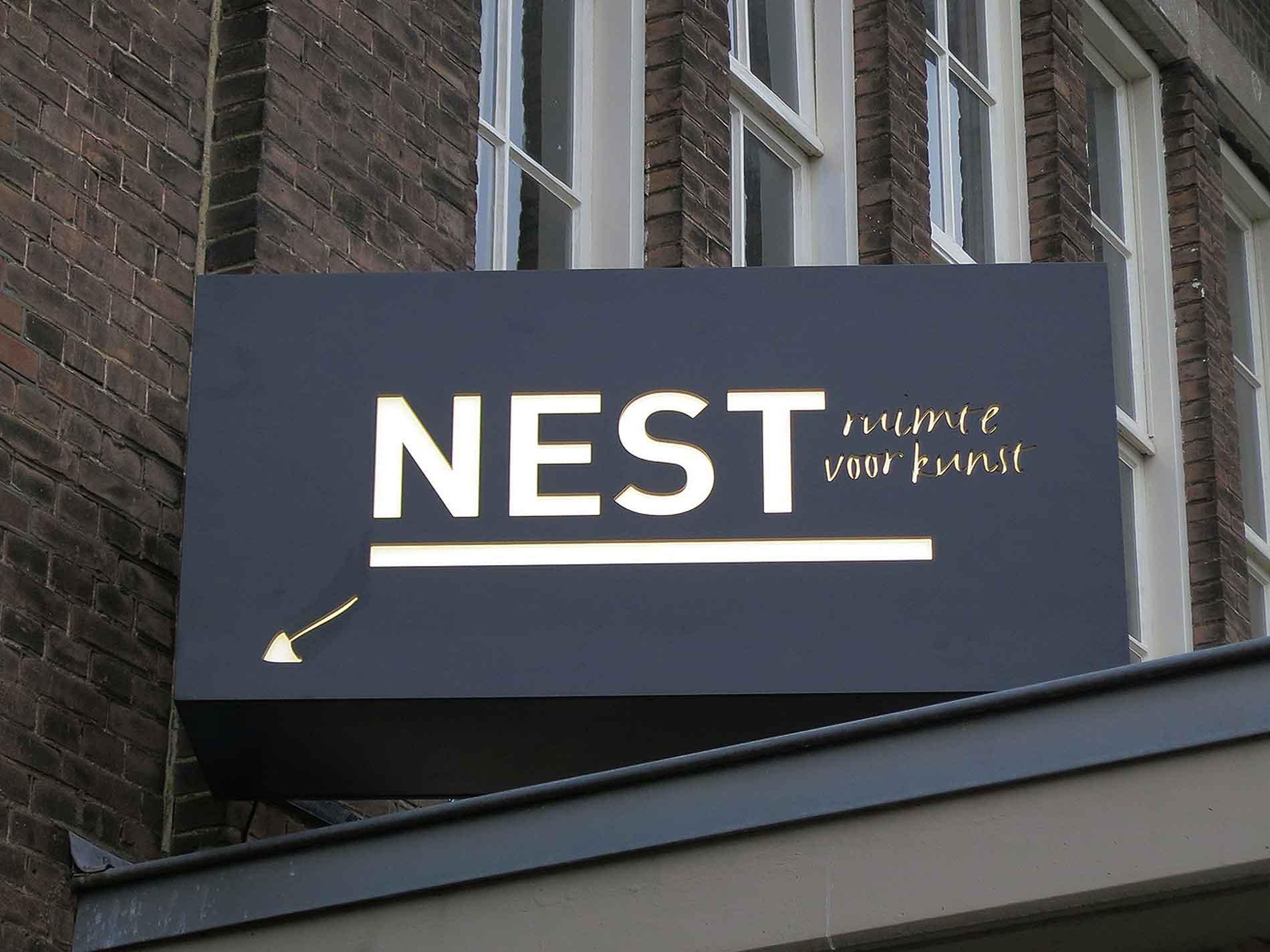 Nest lichtlogo