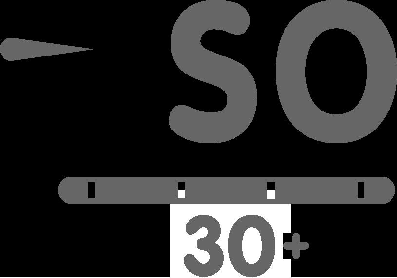 PSO 30plus logo