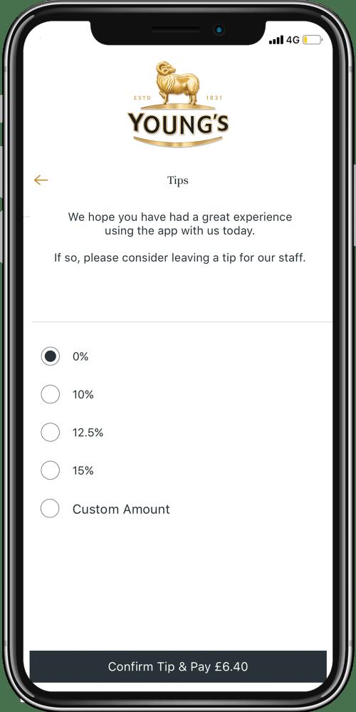 Pepper Loyalty App for Hospitality