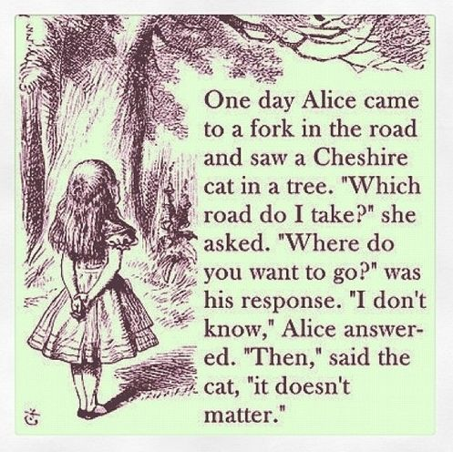 Image result for cheshire cat alice in wonderlandroad