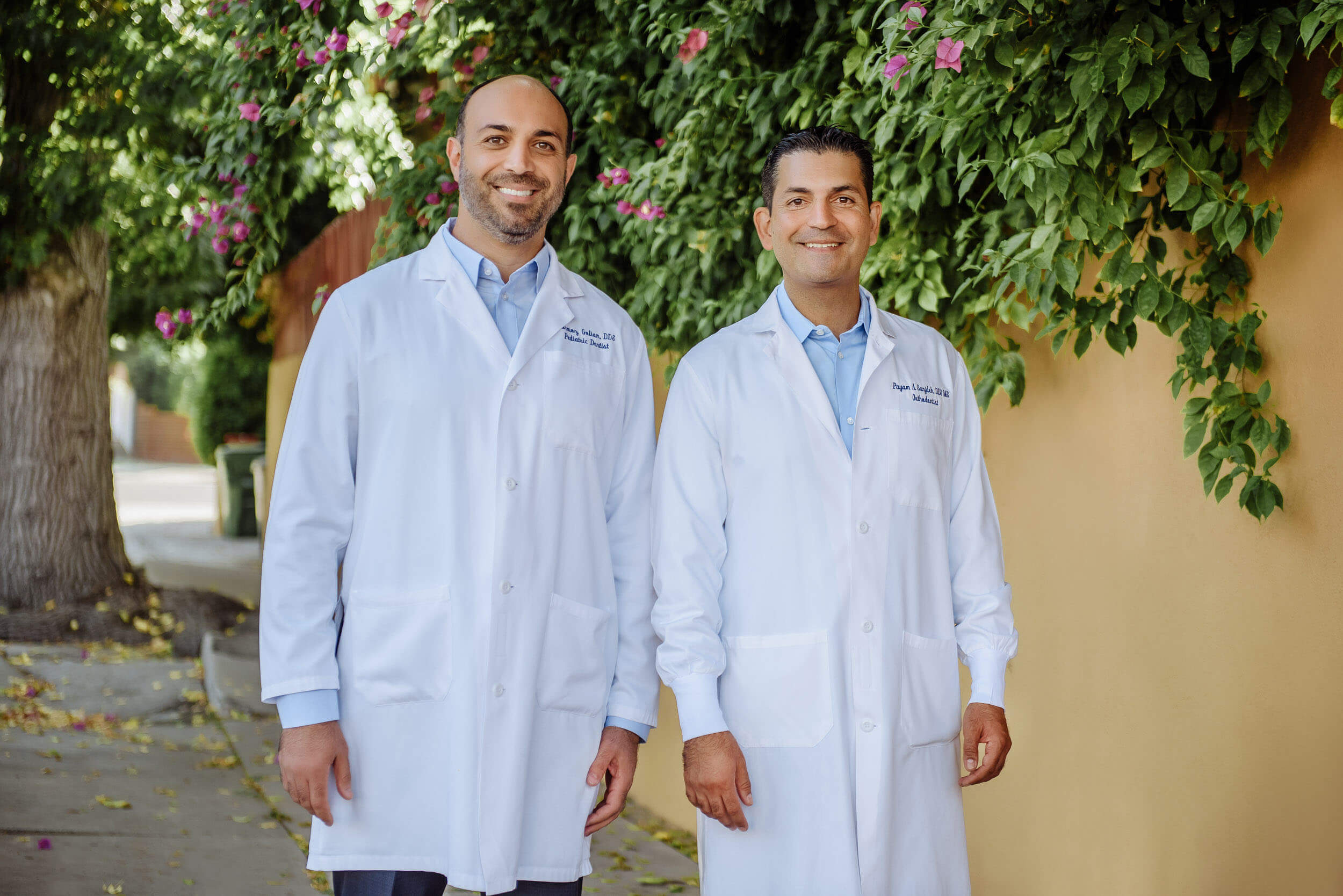 Dr. Golian and Dr. Sanjideh