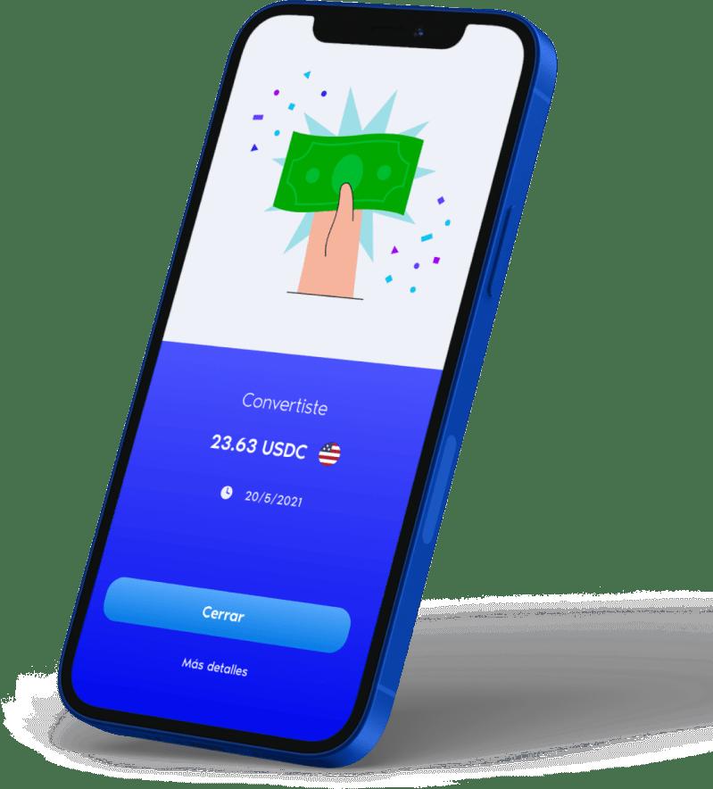 Vibrant app, comenzá a operar