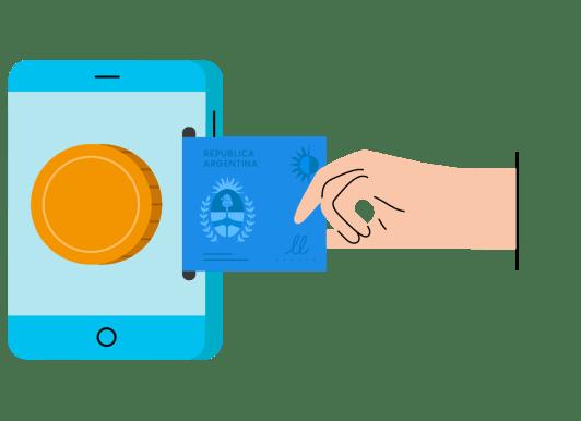 Con Vibrant, retirá pesos a tu cuenta de banco