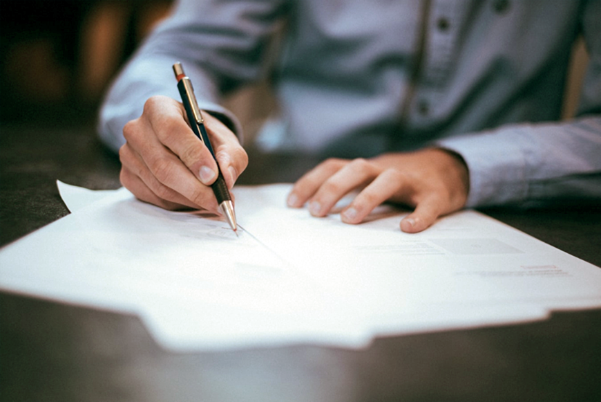 Signing Parental Agreement in a Custody Case