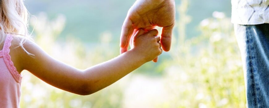 Holding Hands After Child Custody Case