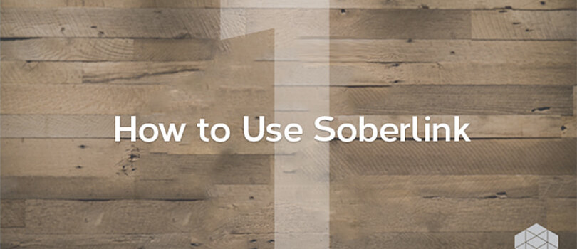 How to use Soberlink: Part 1