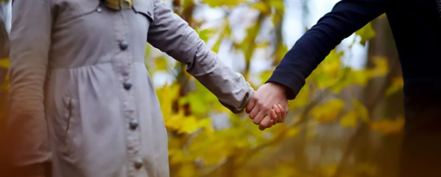 Walking Hand in Hand After Alcohol Recovery