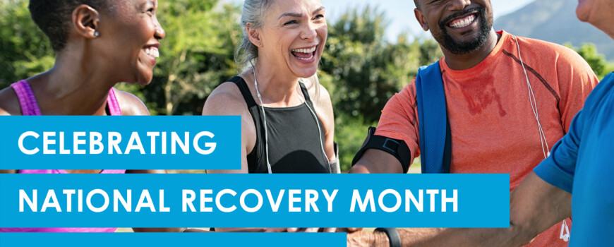 Celebrating National Recovery Month Through Charity