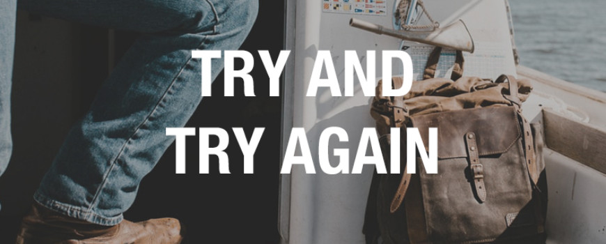 Try and Try Again - Sober Stories