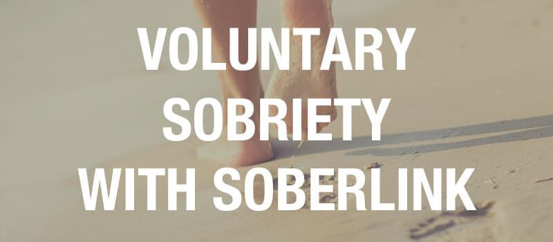 voluntary sobriety with Soberlink