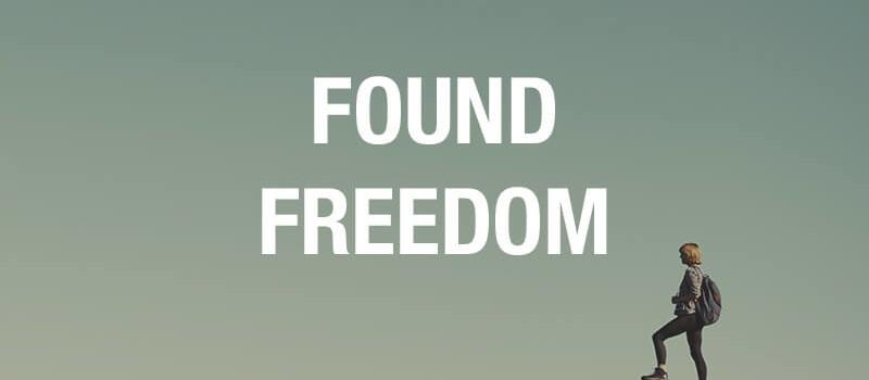 found freedom