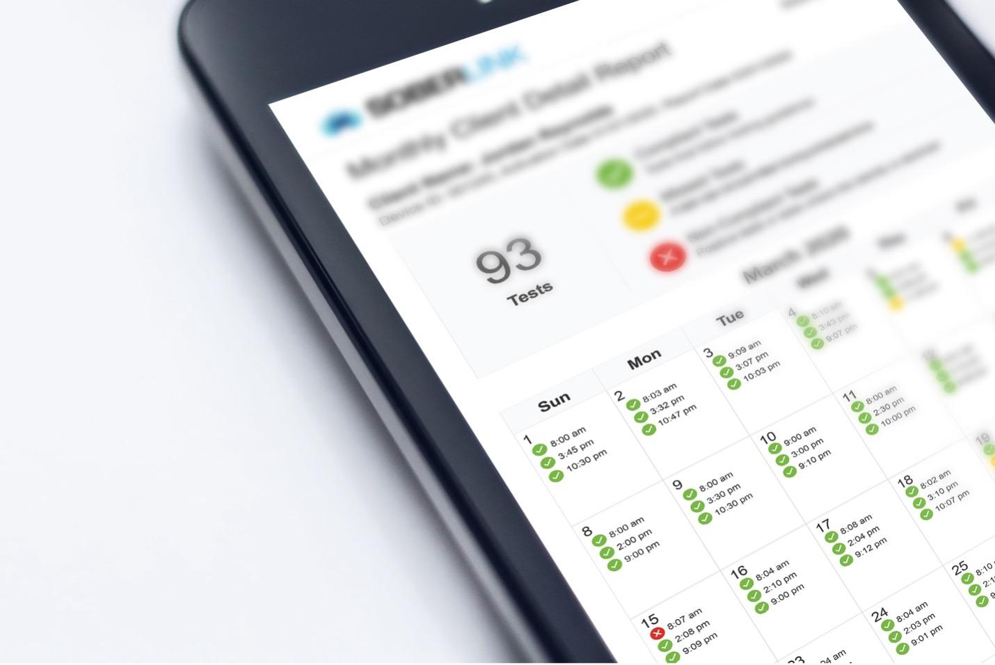 Soberlink monthly testing schedule