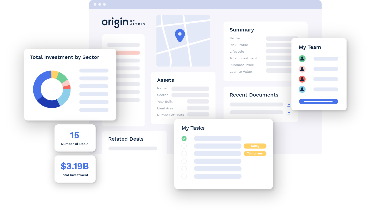 Origin is a powerful, data driven real estate deal management platform for teams of any size.