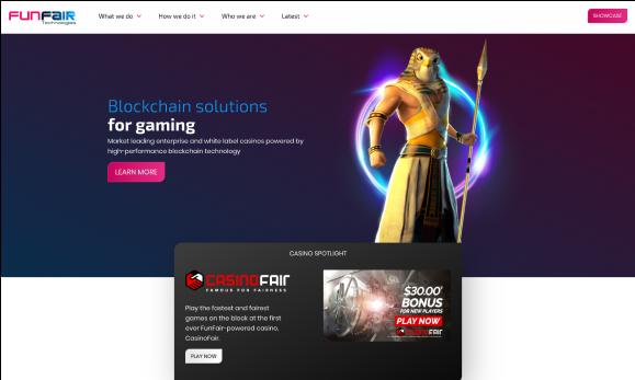 Funfair webpage