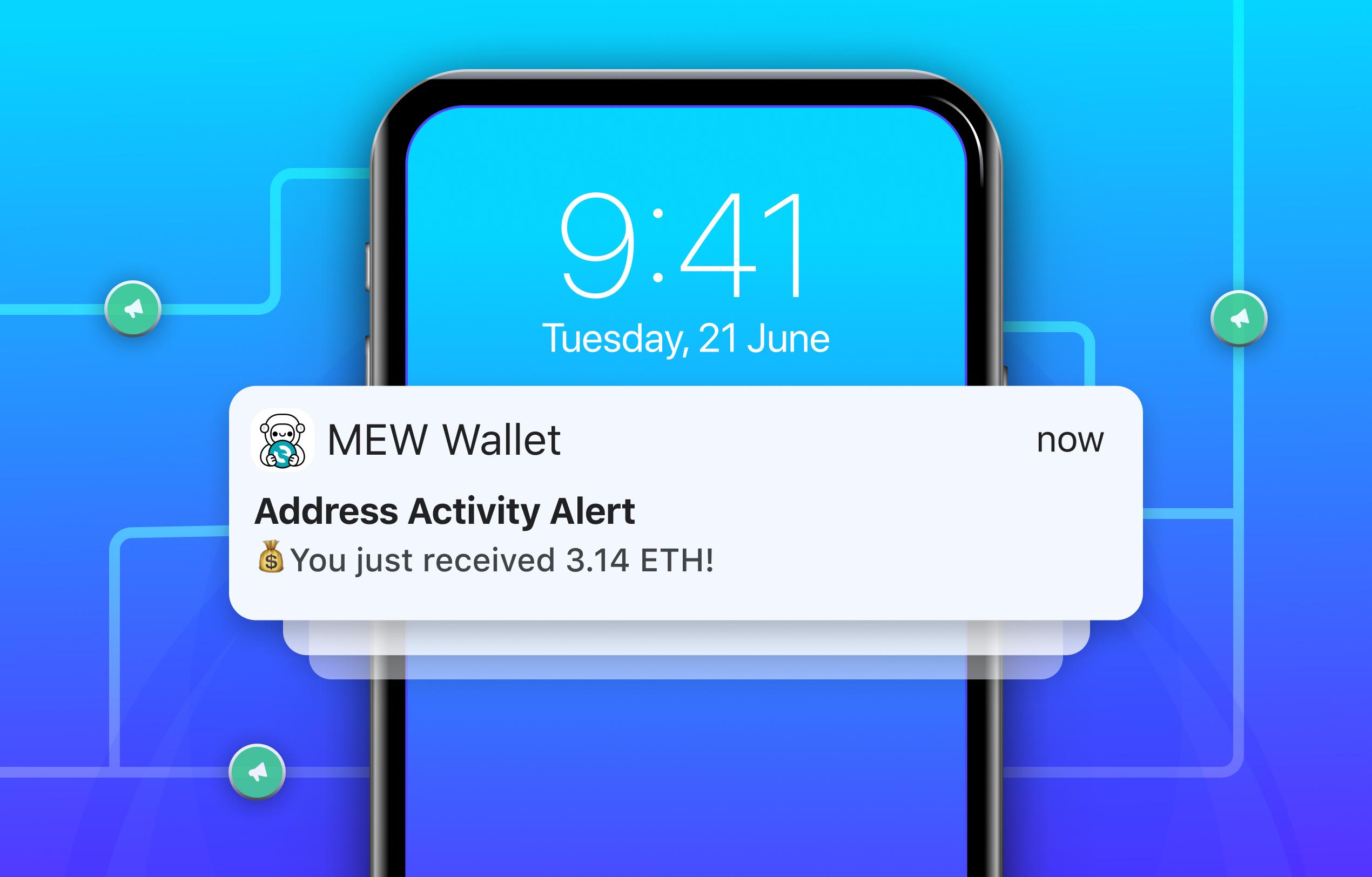 Address activity