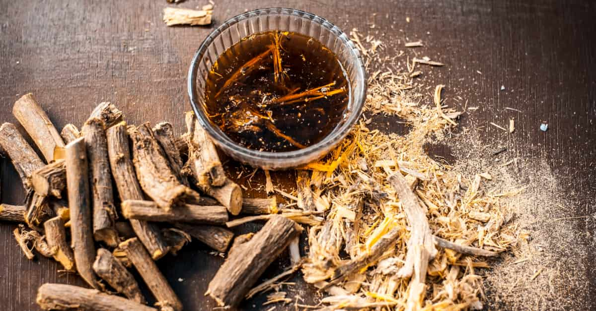 Licorice root a natural produce to limit the outbreak making it easier living with herpes