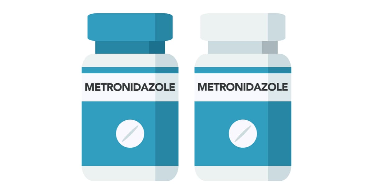 Metronidazol - an antibiotic used in the treatment of Trichomoniasis