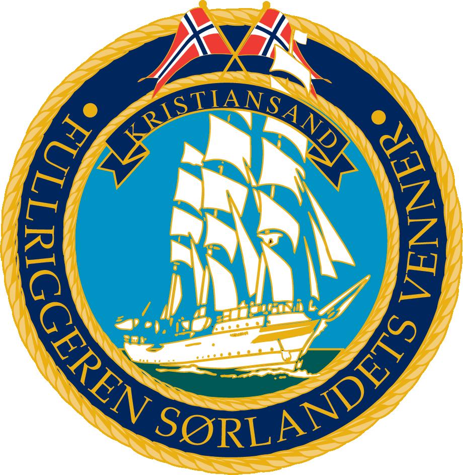 Logo Fullriggereh Sørlandets venner