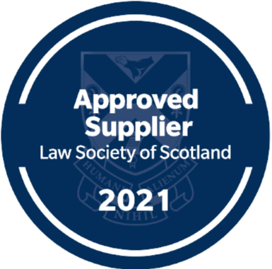 Law Society of Scotland Approved Supplier Logo