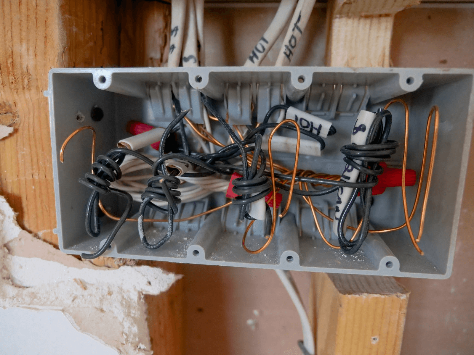 electrical panel wirings