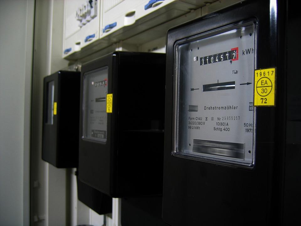 electrical meter box