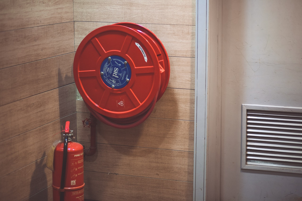 fire extinguisher for commercial electrical safety