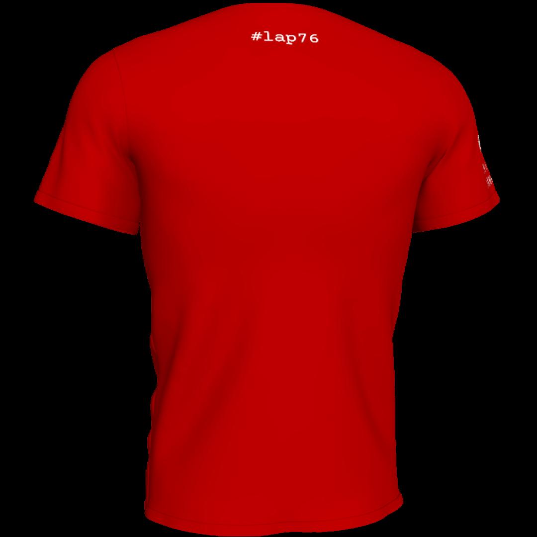 Crvena lap76 majca sa ledja