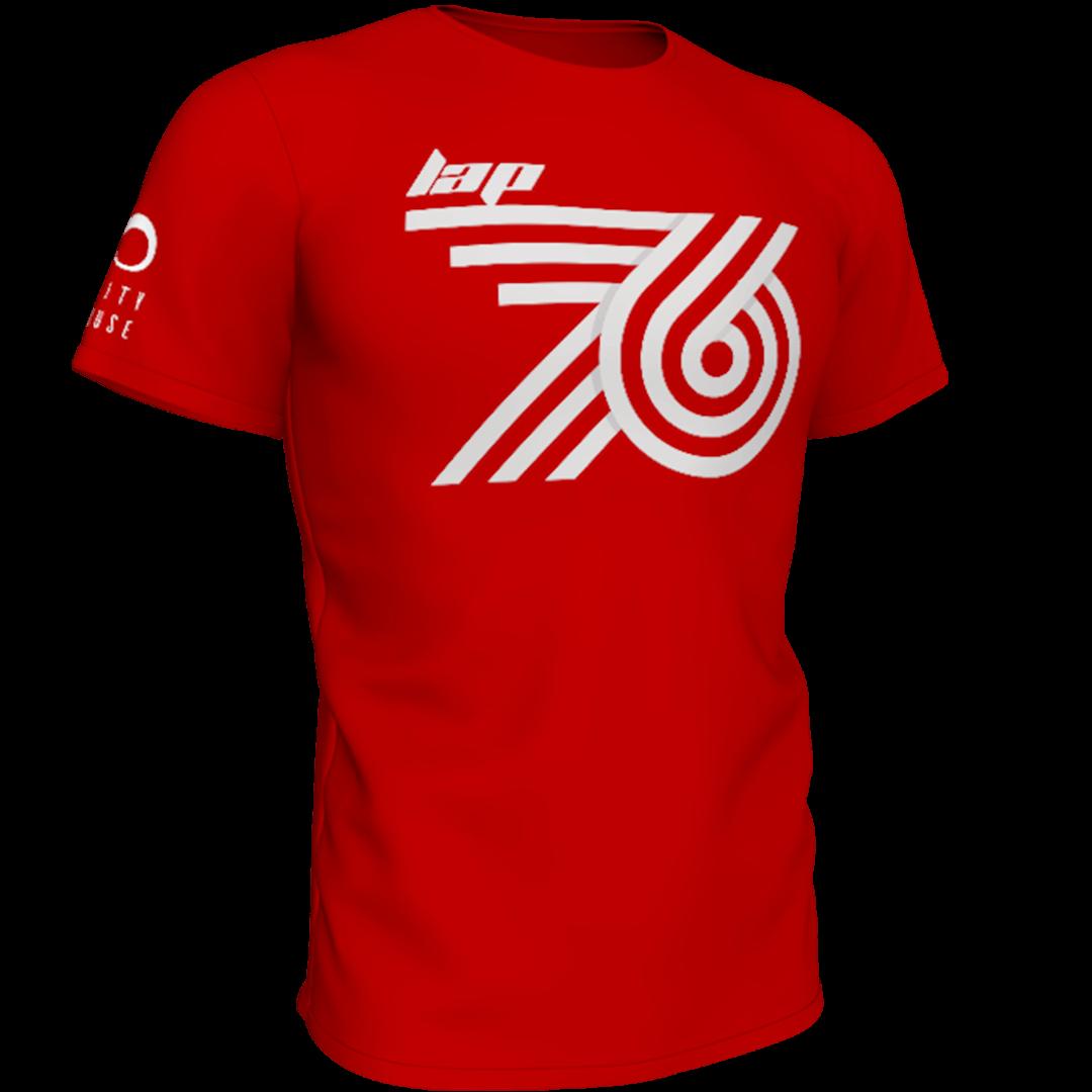 Crvena lap76 majca frontalno