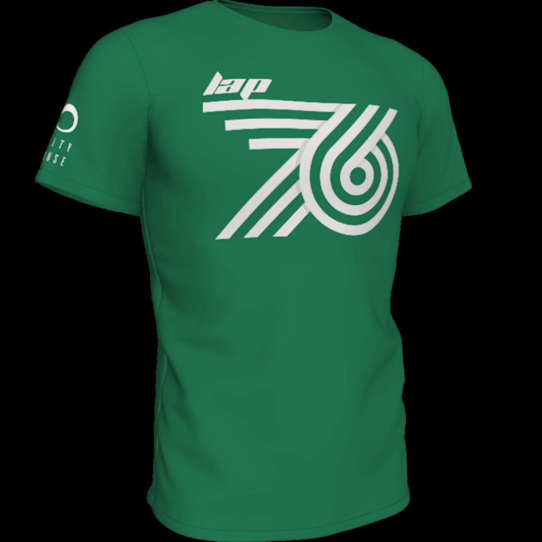 Zelena lap76 majca frontalno