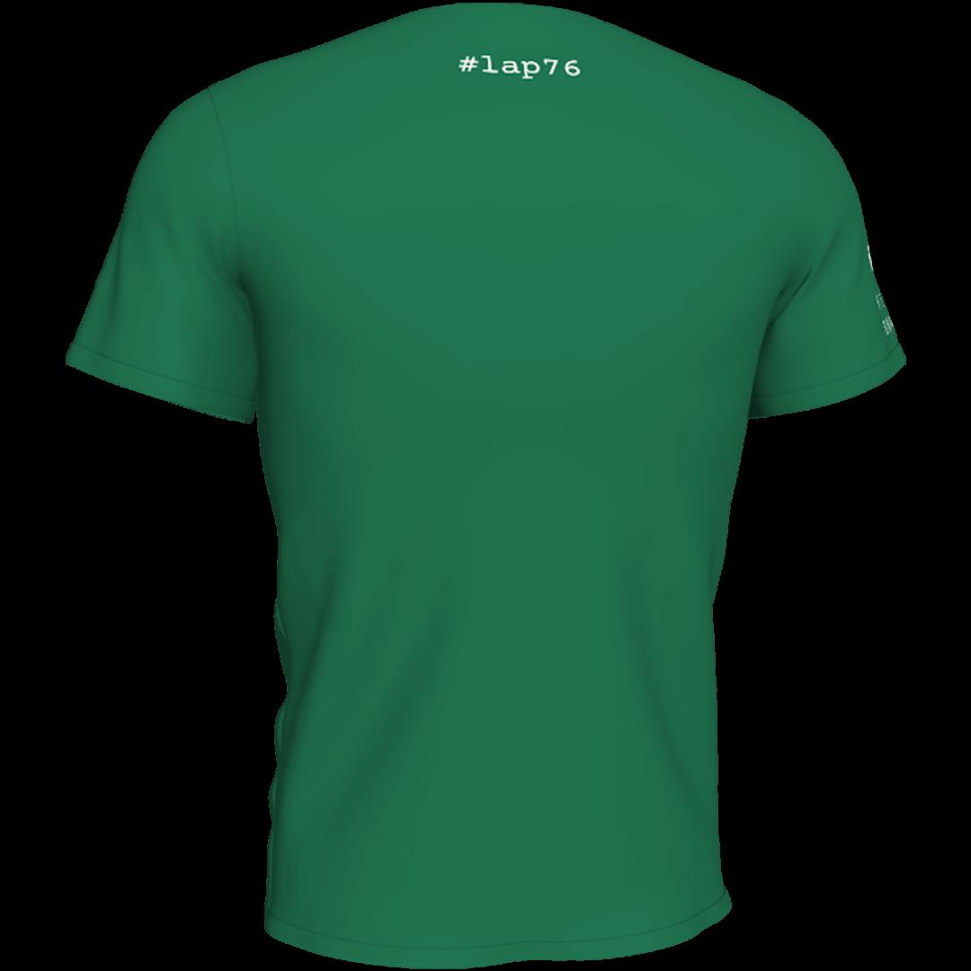 Zelena lap76 majca sa ledja